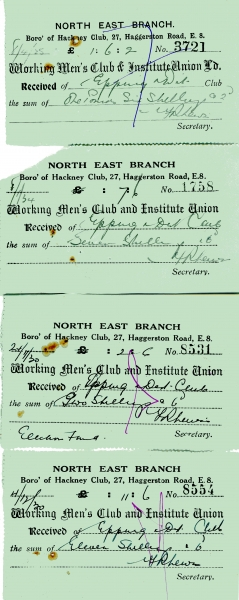 Working Mens Club _ Institute Union Ltd receipts 1925 - 1934 002