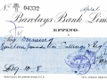 Barclays bank cheques 18 April 1925001