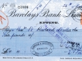 Barclays bank cheques 26 March 1934001