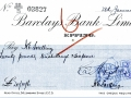Barclays bank cheques 28Jan1925 001