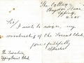 Resignation letter The Cotttage Theydon Place 8 Jan 1925 Haster 004