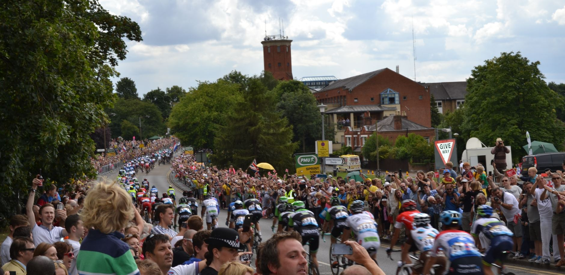 The following peloton