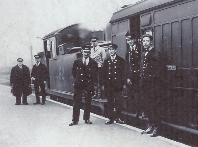 Epping Station Staff 1920s