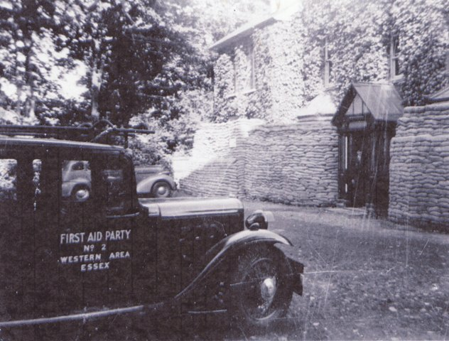 Ivy Lodge During the War