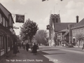 Epping High Street and Church