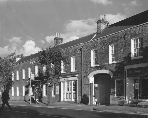 232 and 234 High Street  The Cock Hotel Watneys and Off Licence Stuart Turner 1973 27