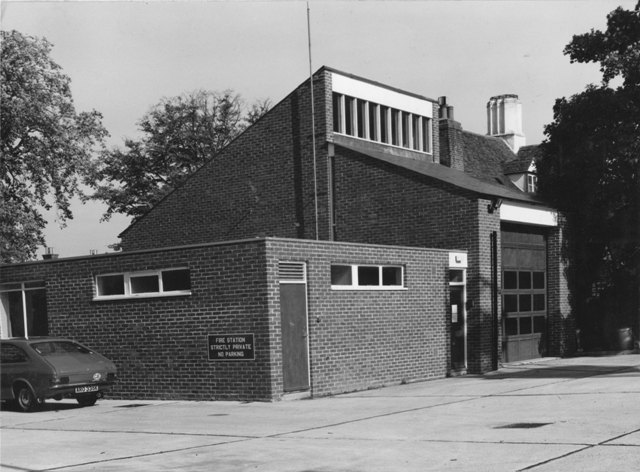 96 High Street Epping  Fire Station Stuart Turner 1975 8