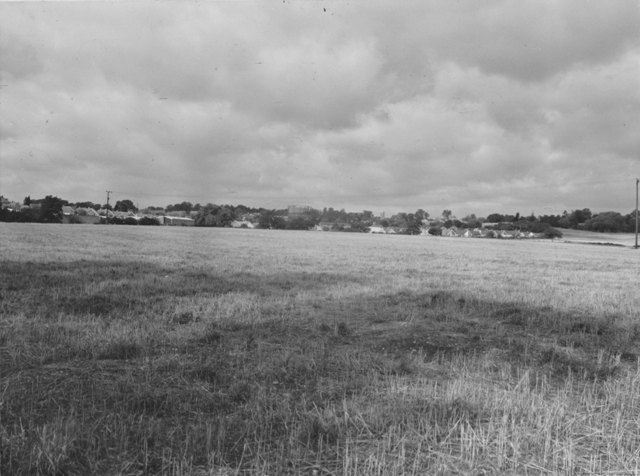 Bower Hill from Fiddlers Hamlet gasholder Stuart Turner  1975 51