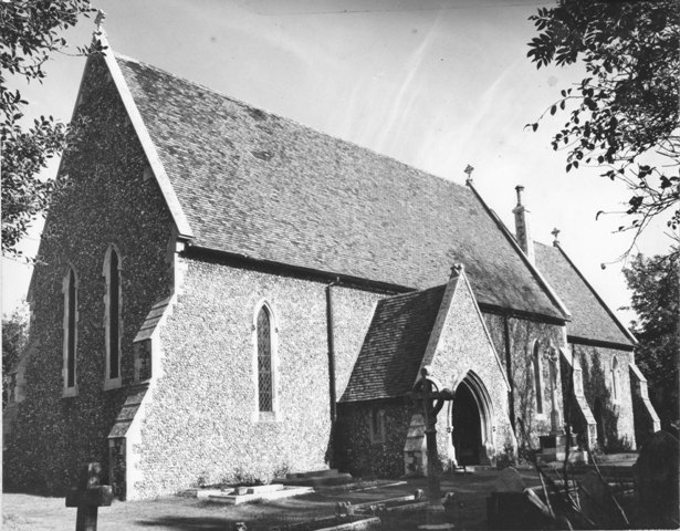 Coopersale Street St. Albans Church Stuart Turner 1973 74