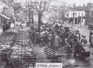 Epping Market after WW2
